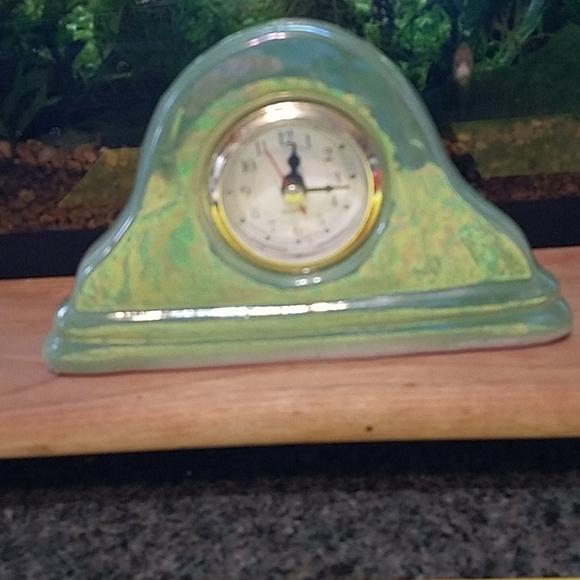 Clock Pottery Small